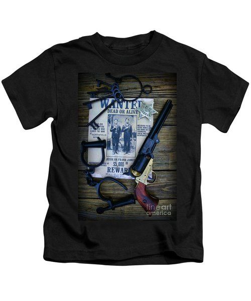 Cowboy - Law And Order Kids T-Shirt