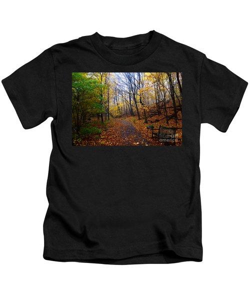 Cozy Fall Corner Kids T-Shirt