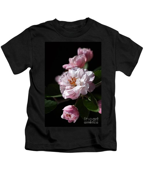 Crabapple Flowers Kids T-Shirt
