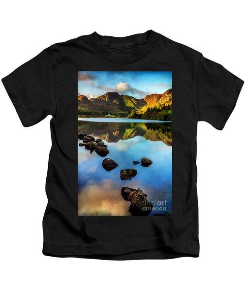 Crafnant Rocks V2 Kids T-Shirt