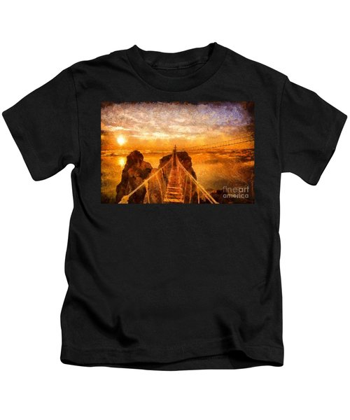 Cross That Bridge Kids T-Shirt