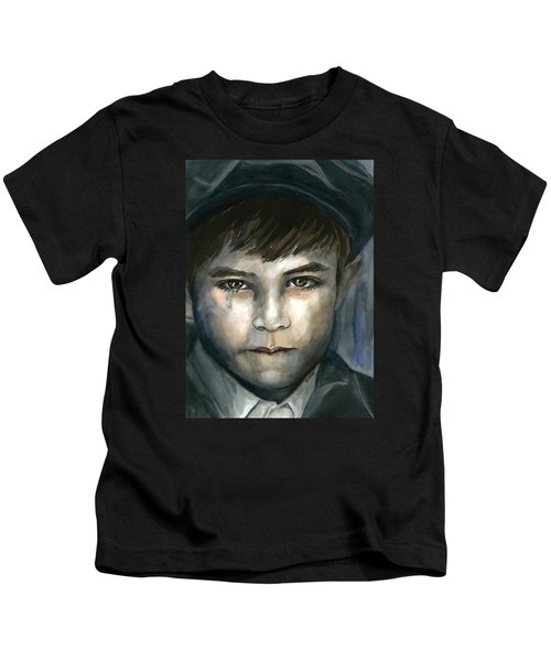 Crying In The Shadows Kids T-Shirt