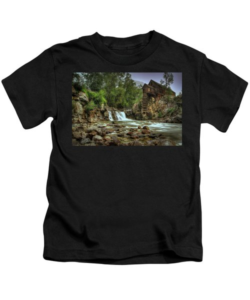 Crystal Mill   Kids T-Shirt