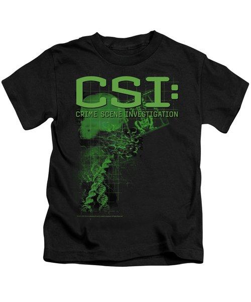 Csi - Evidence Kids T-Shirt