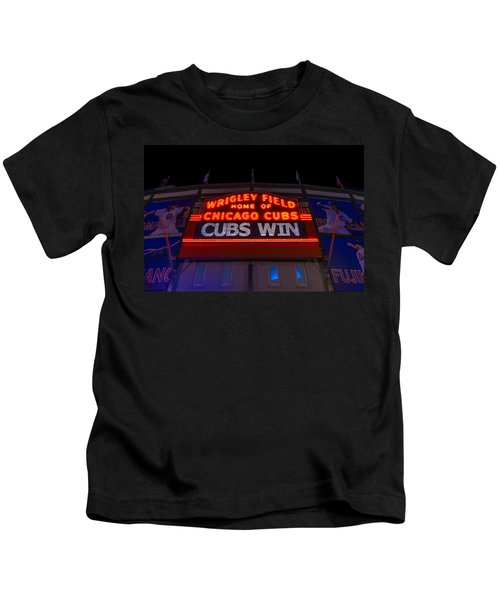 Cubs Win Kids T-Shirt