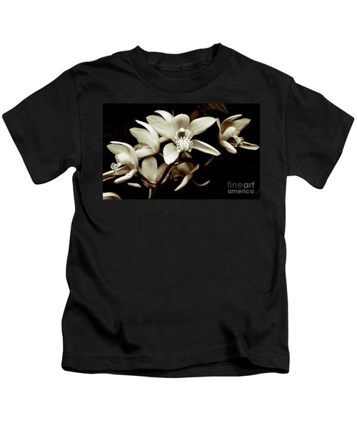 Cymbidium Orchids Kids T-Shirt