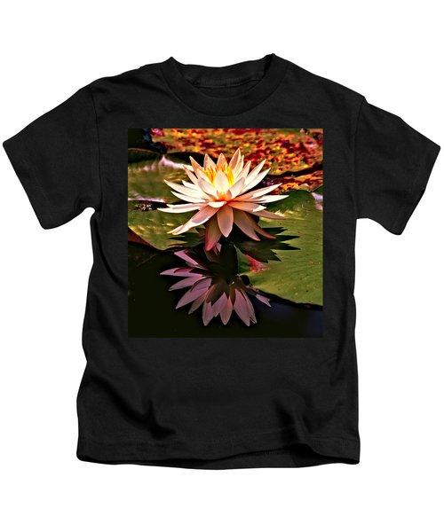 Cypress Garden Water Lily Kids T-Shirt