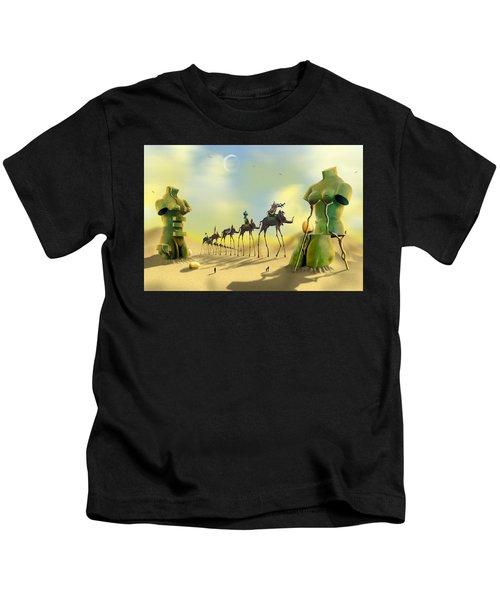 Dali On The Move  Kids T-Shirt