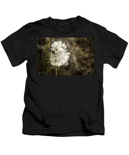 Dandelions Don't Care About The Time Kids T-Shirt