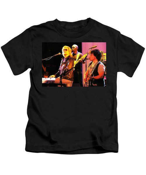Daryl Hall And Oates In Concert Kids T-Shirt