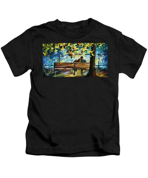 Date On The Bench Kids T-Shirt