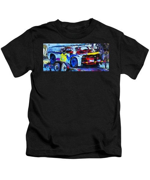 Daytona Bound Number 29 Kids T-Shirt