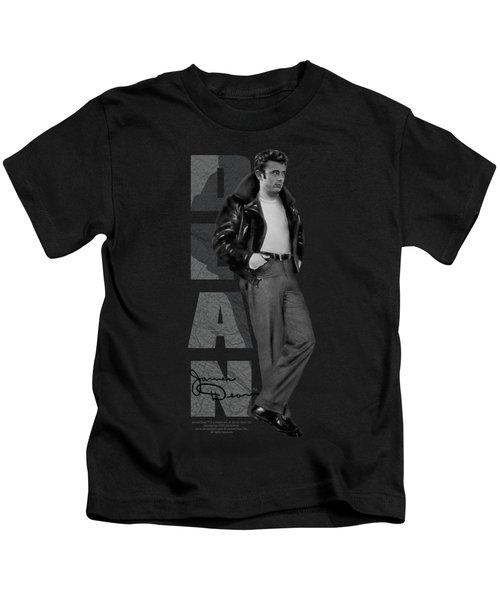 Dean - Standing Leather Kids T-Shirt