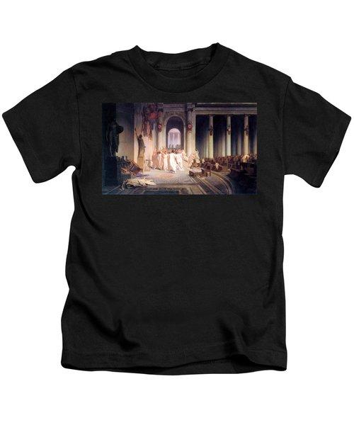 Death Of Caesar Kids T-Shirt