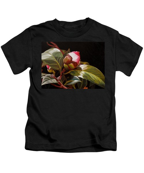 December Rose Kids T-Shirt