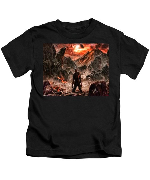 Defiant To The End Kids T-Shirt