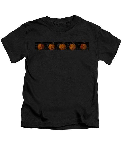 Demented Mister Ullman Pumpkin 3 Kids T-Shirt