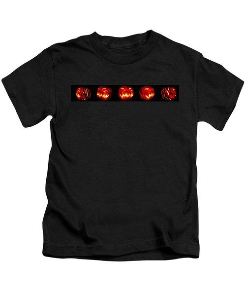 Demented Mister Ullman Pumpkin Kids T-Shirt