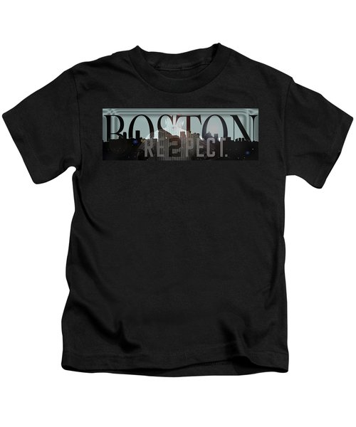 Derek Jeter - Boston Kids T-Shirt by Joann Vitali