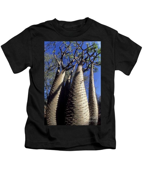 Desert-adapted Tree In Madagascar Kids T-Shirt