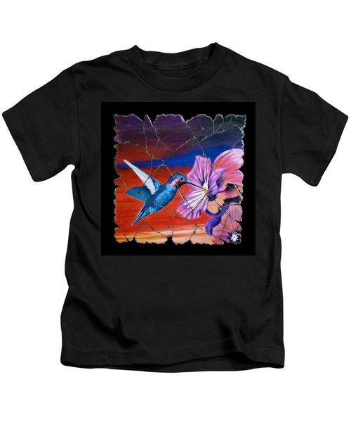 Desert Hummingbird Kids T-Shirt