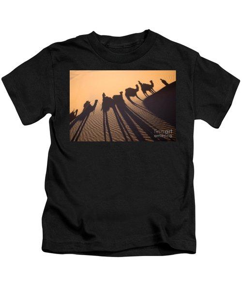 Desert Shadows Kids T-Shirt