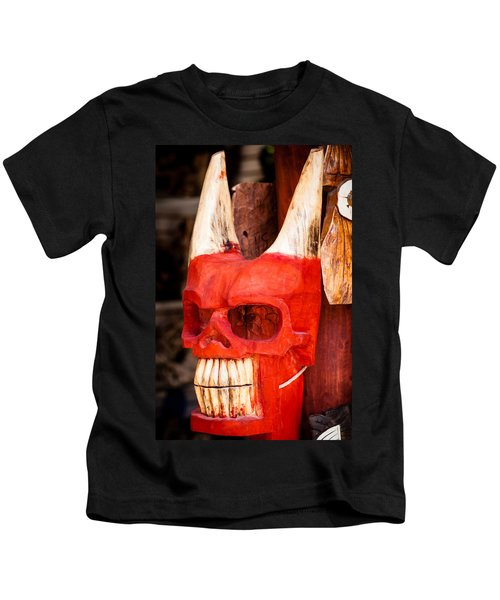 Devil In The Details Kids T-Shirt