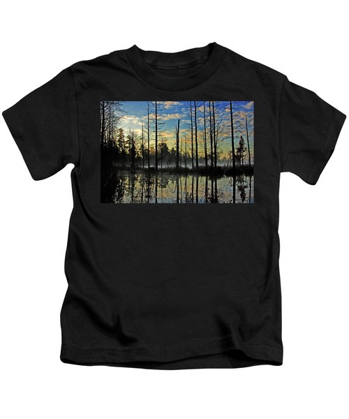 Devils Den In The Pine Barrens Kids T-Shirt