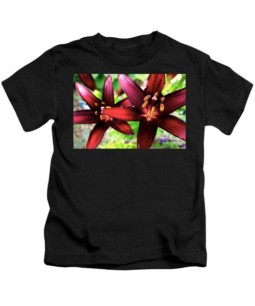 Dimension Lily 2 Kids T-Shirt by Jacqueline Athmann