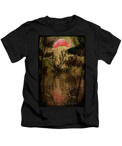 Dinosaurs Among Us Kids T-Shirt