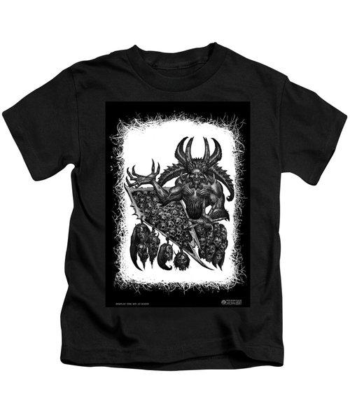 Display The Sins At Hand Kids T-Shirt