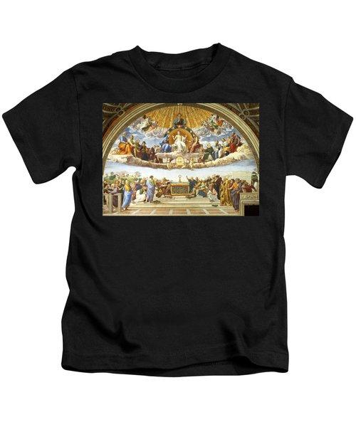 Disputation Of Holy Sacrament. Kids T-Shirt