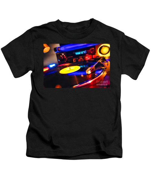 Dj 's Delight Kids T-Shirt