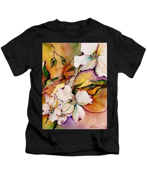 Dogwood In Spring Colors Kids T-Shirt