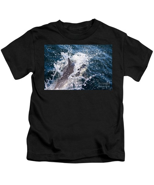 Dolphin Splash Kids T-Shirt