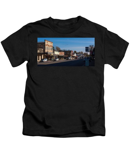 Downtown Boerne Kids T-Shirt