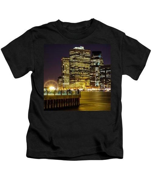 Downtown Lights Kids T-Shirt