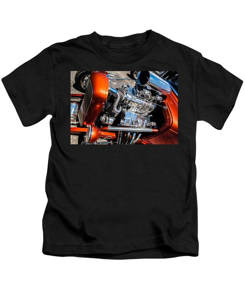 Drag Queen - Hot Rod Blown Chrome  Kids T-Shirt