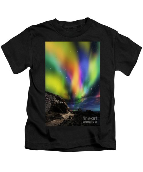 Dramatic Aurora Kids T-Shirt