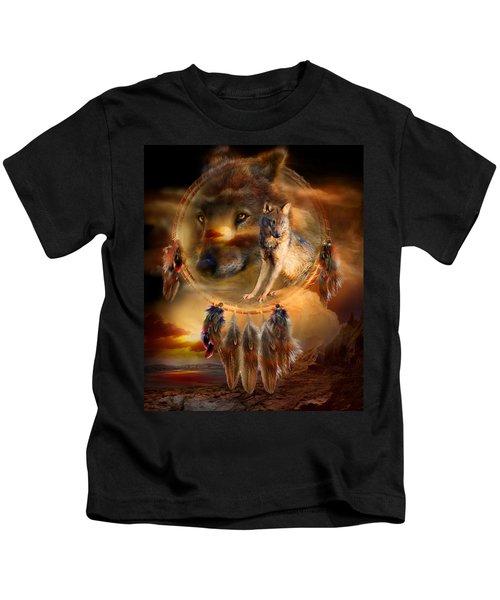 Dream Catcher - Wolfland Kids T-Shirt