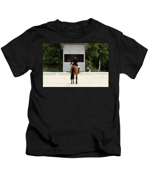 Dressage Salute Kids T-Shirt