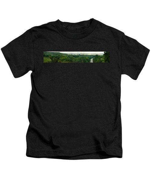 Drive The Flint Hills Kids T-Shirt