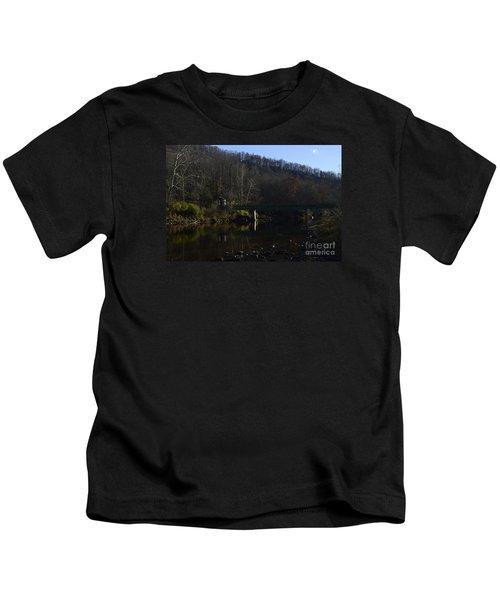 Dry Fork At Jenningston Kids T-Shirt