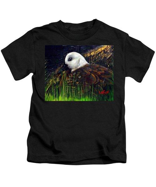 Duck At Dusk Kids T-Shirt