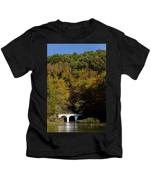 Dunbar Cave And Swan Lake Kids T-Shirt