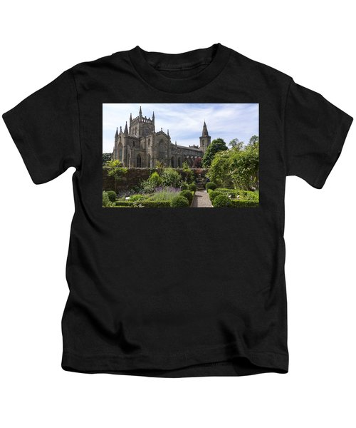 Dunfermline Abbey From The Abbot House Kids T-Shirt