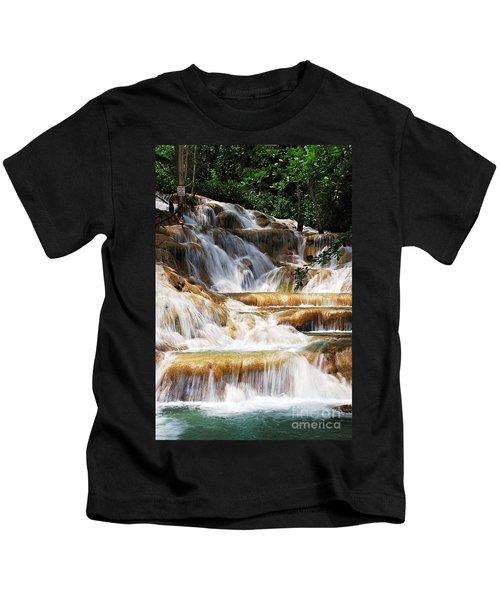 Dunn Falls _ Kids T-Shirt