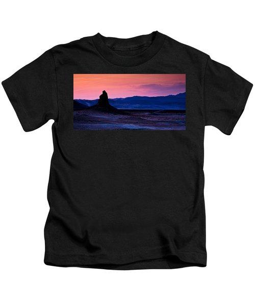 Dusk At Trona Kids T-Shirt
