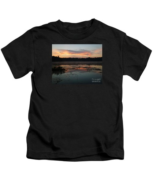 Eagle River Sunrise No.5 Kids T-Shirt