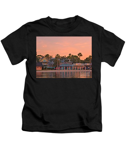 Easy Like Sunday Sunrise Kids T-Shirt